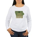 Iowa State Cornhole Champion Women's Long Sleeve T