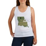 Louisiana State Cornhole Cham Women's Tank Top
