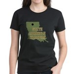 Louisiana State Cornhole Cham Women's Dark T-Shirt