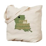 Louisiana State Cornhole Cham Tote Bag