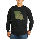 Louisiana State Cornhole Cham Long Sleeve Dark T-S