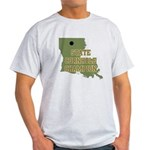 Louisiana State Cornhole Cham Light T-Shirt