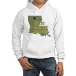 Louisiana State Cornhole Cham Hooded Sweatshirt