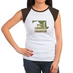 Maryland State Cornhole Champ Women's Cap Sleeve T