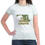 Maryland State Cornhole Champ Jr. Ringer T-Shirt