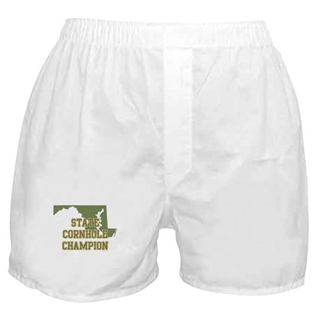 Maryland State Cornhole Champ Boxer Shorts