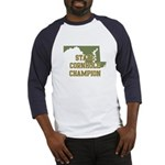 Maryland State Cornhole Champ Baseball Jersey