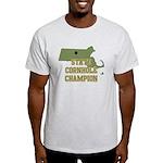 Massachusettes State Cornhole Light T-Shirt