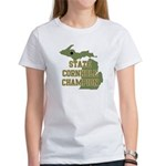 Michigan State Cornhole Champ Women's T-Shirt