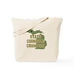 Michigan State Cornhole Champ Tote Bag