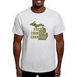 Michigan State Cornhole Champ Light T-Shirt