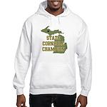 Michigan State Cornhole Champ Hooded Sweatshirt