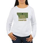 Montana State Cornhole Champi Women's Long Sleeve