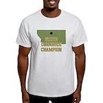 Montana State Cornhole Champi Light T-Shirt