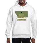 Montana State Cornhole Champi Hooded Sweatshirt