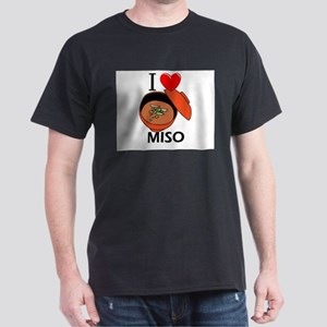 I Love Miso Dark T-Shirt