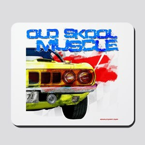 Old Skool Cuda Mousepad