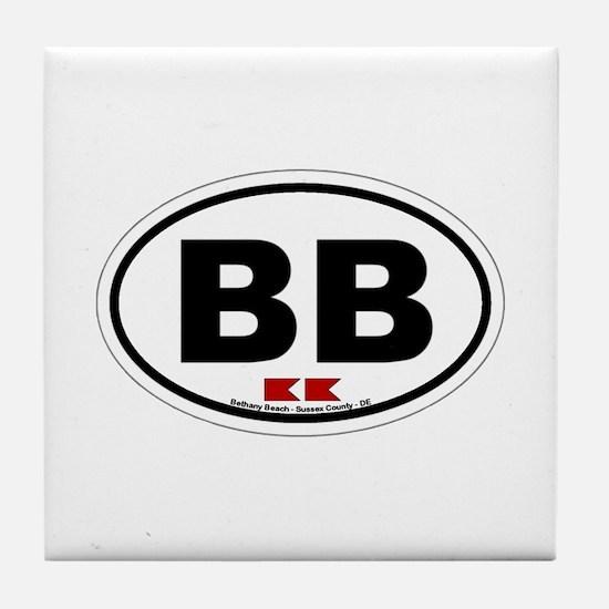 Bethany Beach Tile Coaster