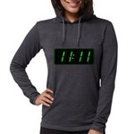 WTF Womens Hooded Shirt