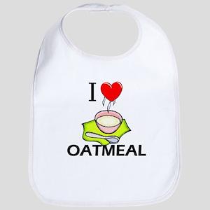 I Love Oatmeal Bib