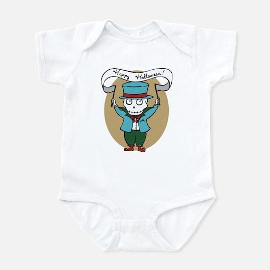 Happy Halloween Skelly Infant Bodysuit