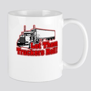 Let Them Truckers Roll! - Red Mug