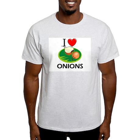 I Love Onions Light T-Shirt