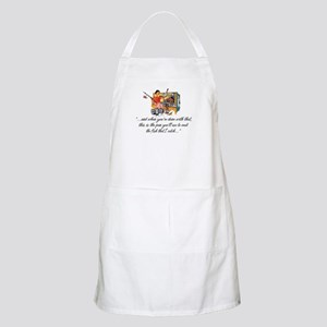 Fishing Housewife BBQ Apron