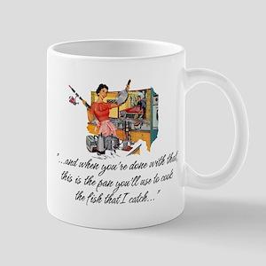 Fishing Housewife Mug