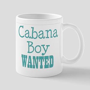 cabana boy wanted Mug