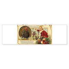 Thanksgiving Wishes Bumper Sticker (10 pk)