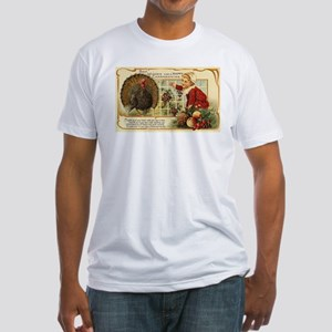 Thanksgiving Wishes Fitted T-Shirt
