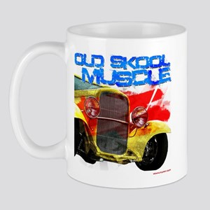old skool yellow rod Mug