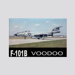 F-101 VOODOO FIGHTER Rectangle Magnet