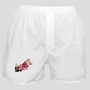 Upside Down Girl Boxer Shorts