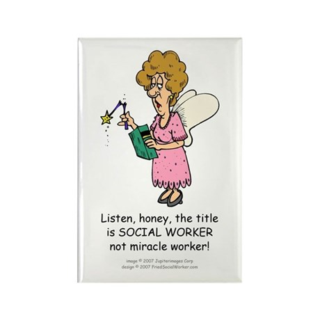 Miracle Worker Rectangle Magnet