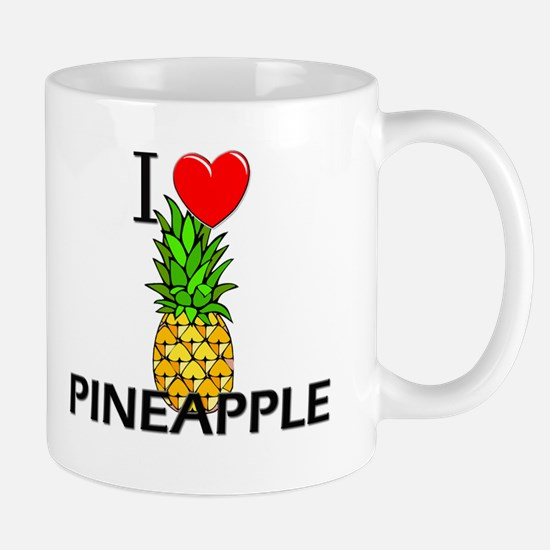 I Love Pineapple Mug