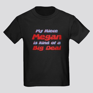Niece Megan - Big Deal Kids Dark T-Shirt