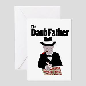 The DaubFather Greeting Card