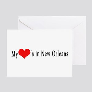 My Heart's in New Orleans Greeting Cards (Package