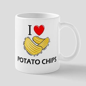 I Love Potato Chips Mug