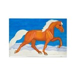 Palomino Tennessee Walker Rectangle Magnet (100 pa