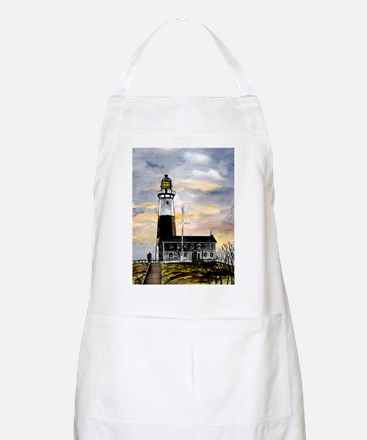Montauk Point lighthouse New BBQ Apron