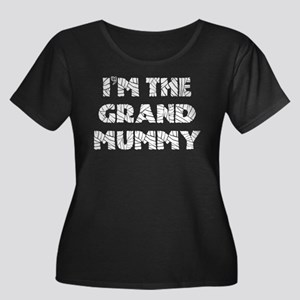 I'm the Grand Mummy Women's Plus Size Scoop Neck D
