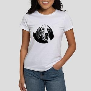 Basset Hound Dog Women's Classic White T-Shirt