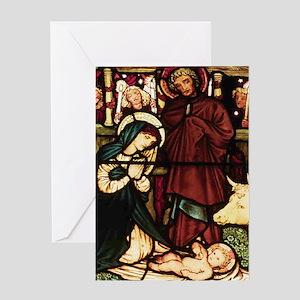 Nativity Christmas Card w Scripture