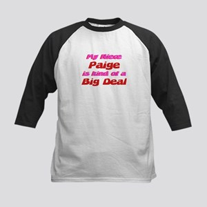 Niece Paige - Big Deal Kids Baseball Jersey