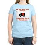 Oh, Did I Hurt Your Feelings? Women's Pink T-Shirt