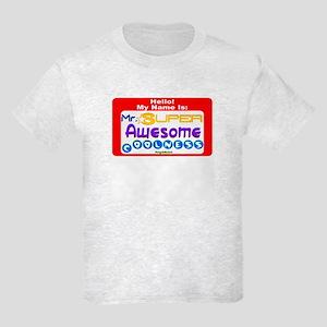 Mr. Super Awesome Kids Light T-Shirt
