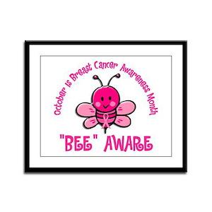 Breast Cancer Awareness Month 4.2 Framed Panel Pri